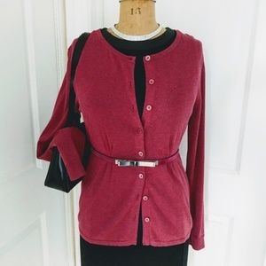 Coldwater Creek Silk Blend Cardigan Size Medium